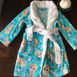 Frozen girls robe
